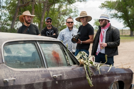 Seth Rogen; BTS - Preacher _ Season 1, Pilot - Photo Credit: Lewis Jacobs/Sony Pictures Television/AMC